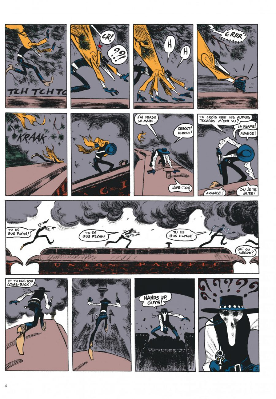 Gus #4, Happy Clem, Christophe Blain, Dargaud-page4-1200