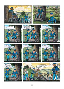 Les Tuniques Bleues 60, Carte blanche pour un bleu, Cauvin, Lambil, dupuis