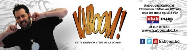Kaboom - émission web 100% BD