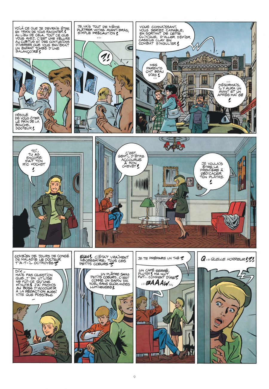 Les nouvelles aventures de Ric Hochet #2, Meurtre dans un jardin français, Le lombard, Zidrou, Van Liemt