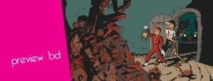 Preview, Le Spirou de 11, Le Maitre des hosties noires, Yann, Schwartz, Dupuis