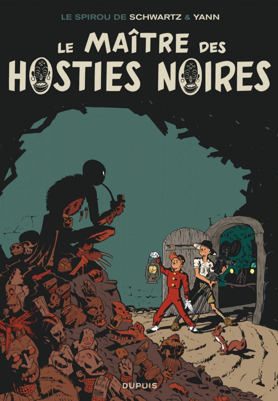 Preview, Le Spirou de 11, Le Maitre des hosties noires, Yann, Schwartz, Dupuis-couv-1200