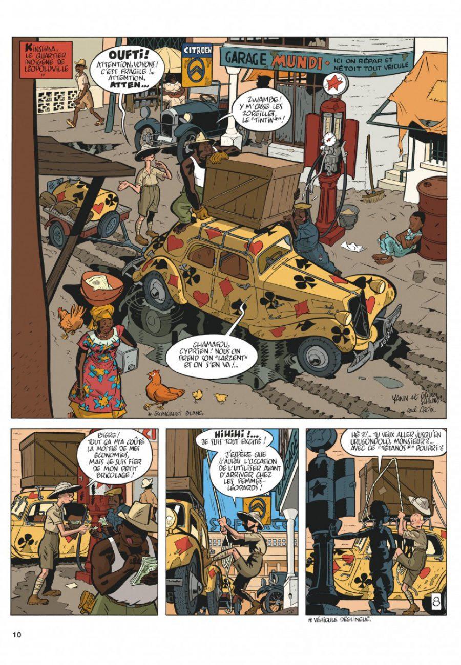 Preview, Le Spirou de 11, Le Maitre des hosties noires, Yann, Schwartz, Dupuis-page10-1200