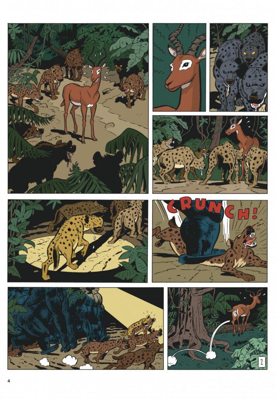 Preview, Le Spirou de 11, Le Maitre des hosties noires, Yann, Schwartz, Dupuis-page4-1200