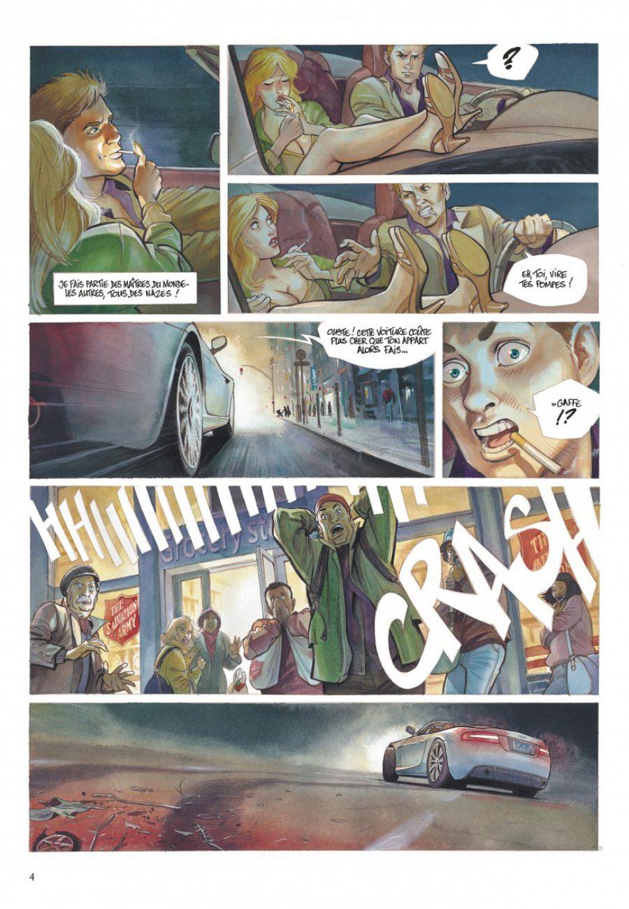 Le projet Bleiberg #1, les fantômes du passé, Le Tendre, Peynet, S. Khara, Dargaud-page4-1200