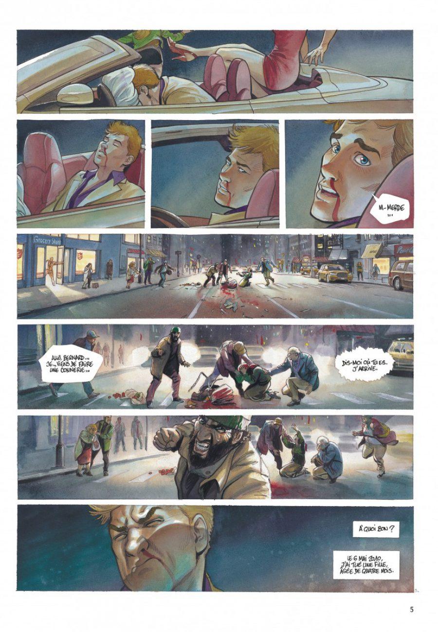 Le projet Bleiberg #1, les fantômes du passé, Le Tendre, Peynet, S. Khara, Dargaud-page5-1200
