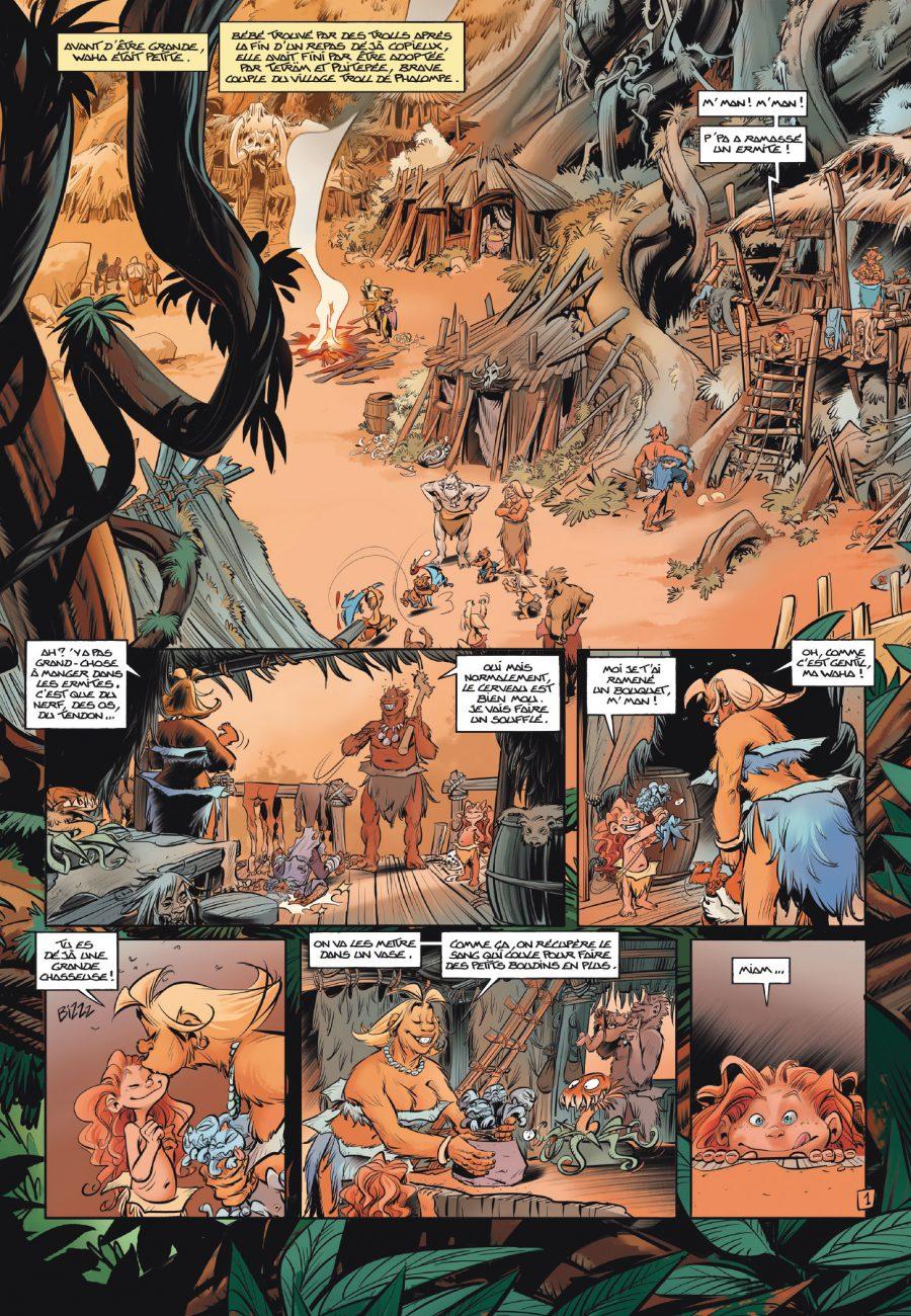 Trolls de Troy 22, A l'école des trolls, Arleston, Mourier, Editions Soleil