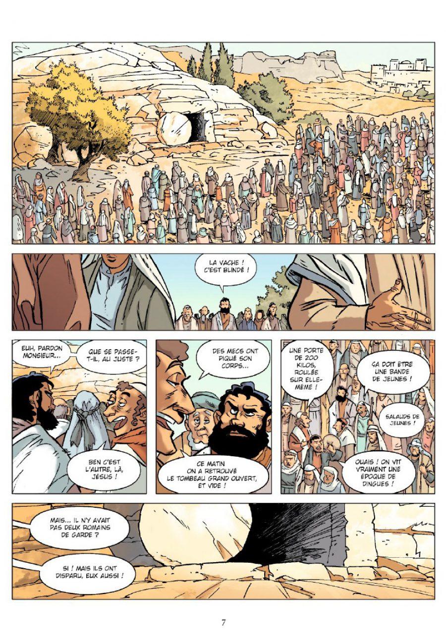 Un jour sans Jésus, Livre 1, Vent d'ouest, Jincker, Pacheco, Chronique Bd