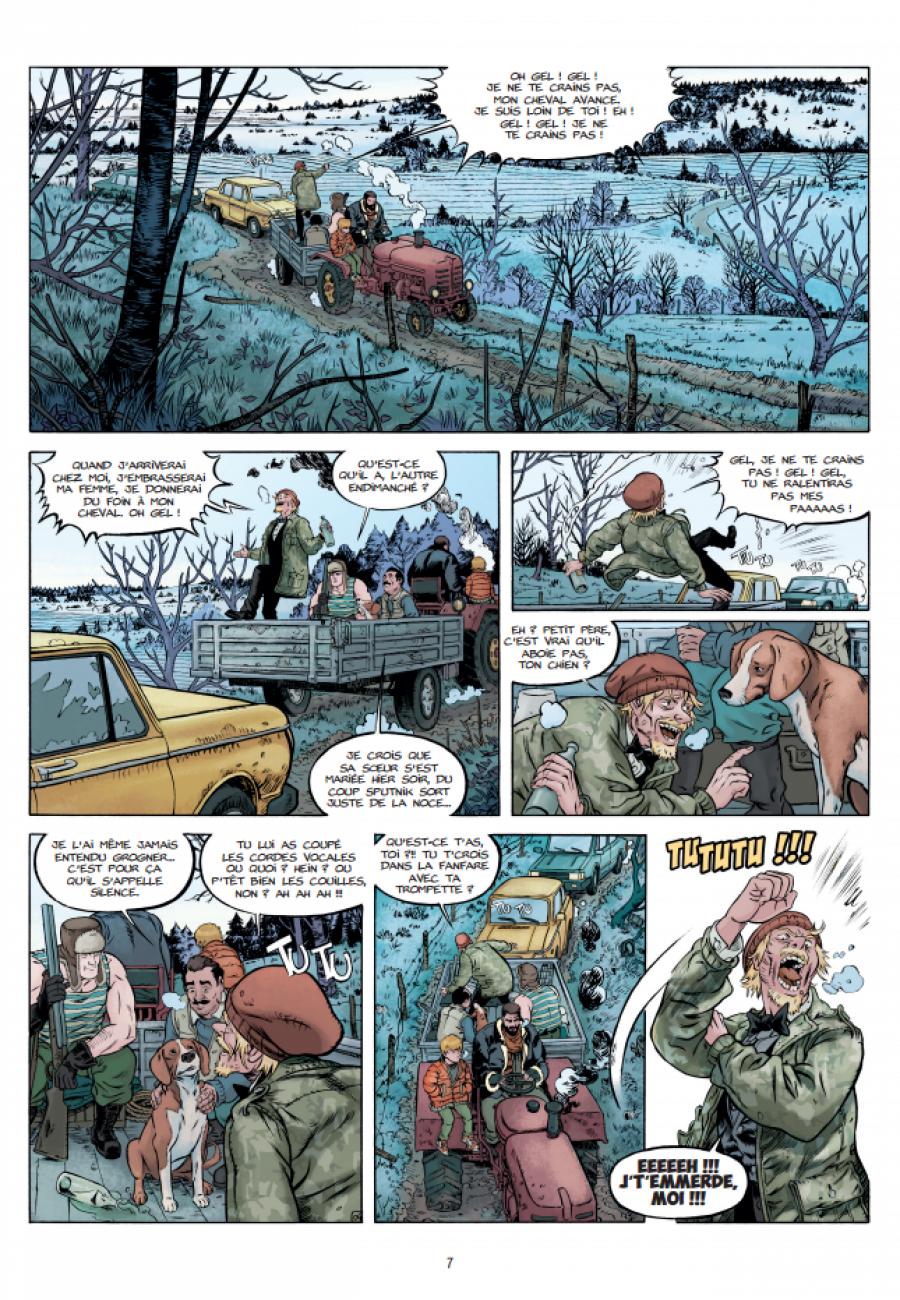 Les chiens de Pripyat #1, Saint Christophe, Ducoudray, Alliel, Grand Angle