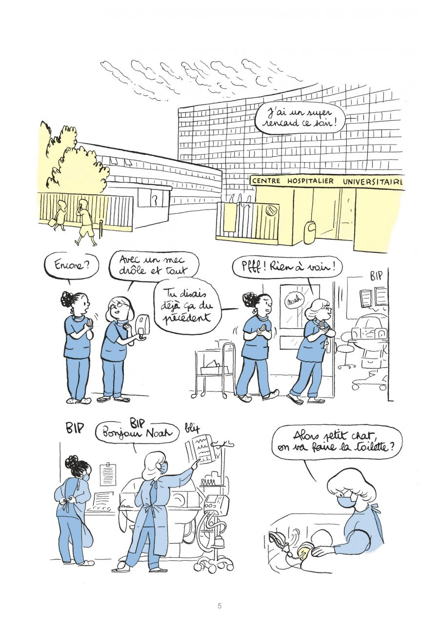 Idéal Standard, Aude Picault, Dargaud