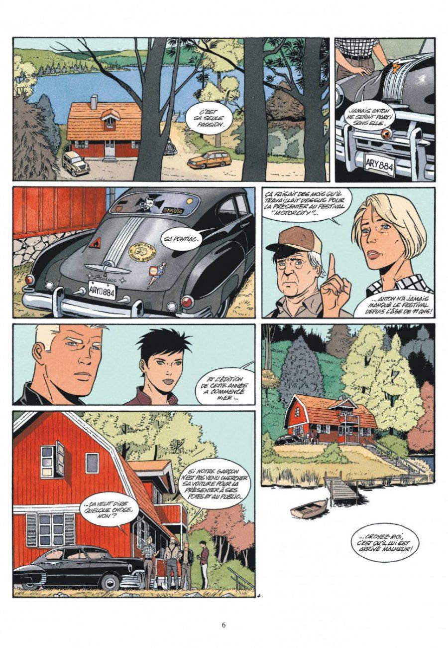 Motorcity, Sylvain Runberg, Philippe Berthet, Dargaud-page6-1200