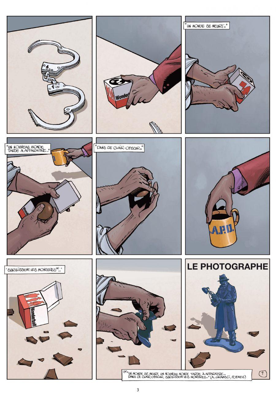 wonderball 4, Le photographe, Pécau, Wilson, Blanchard, Duval, éditions Delcourt