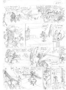 Nicolas Keramidas, dans la case, Mickey craziest adventures, Glénat