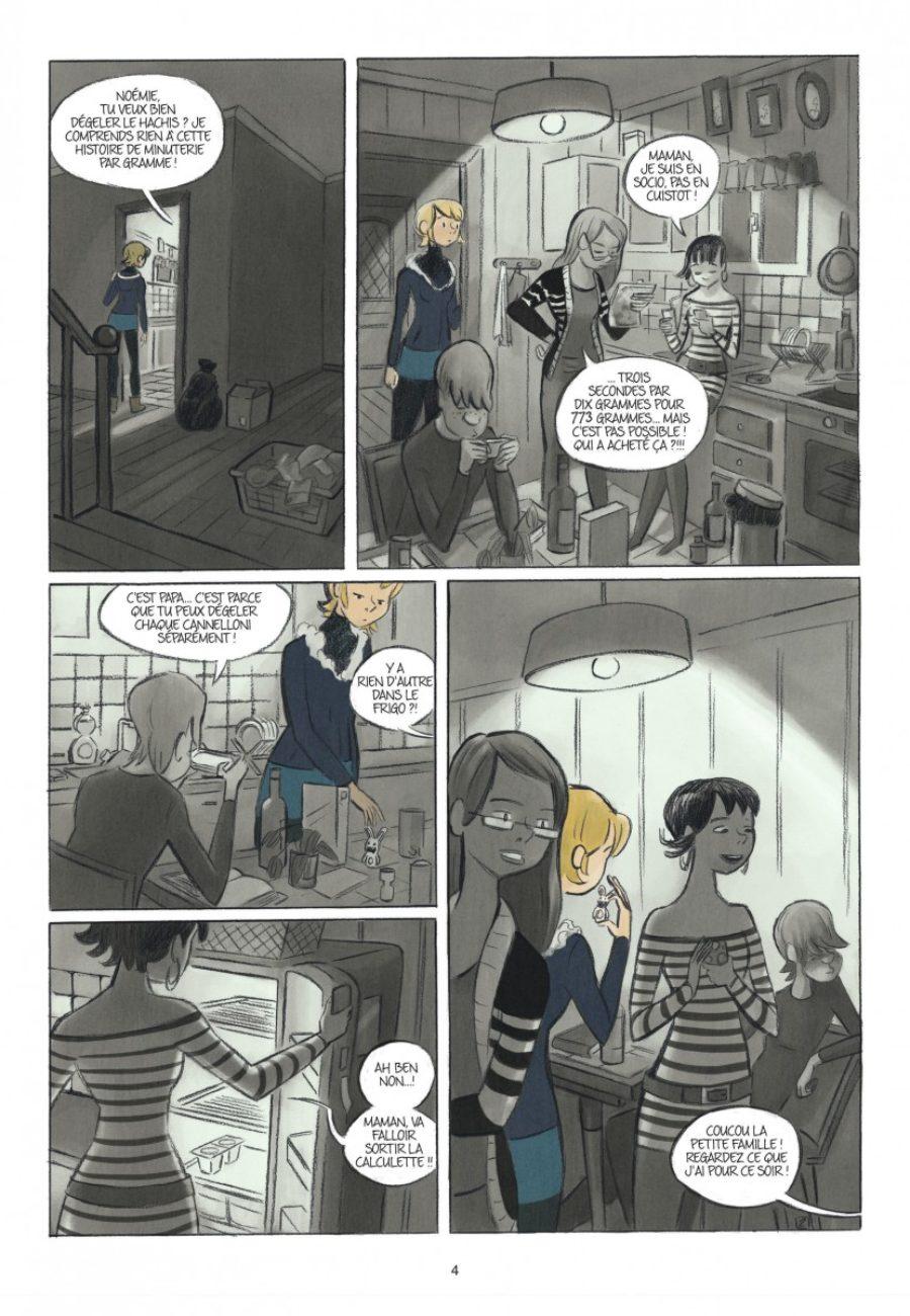 Rose, Double vie, Dupuis-page4-1200
