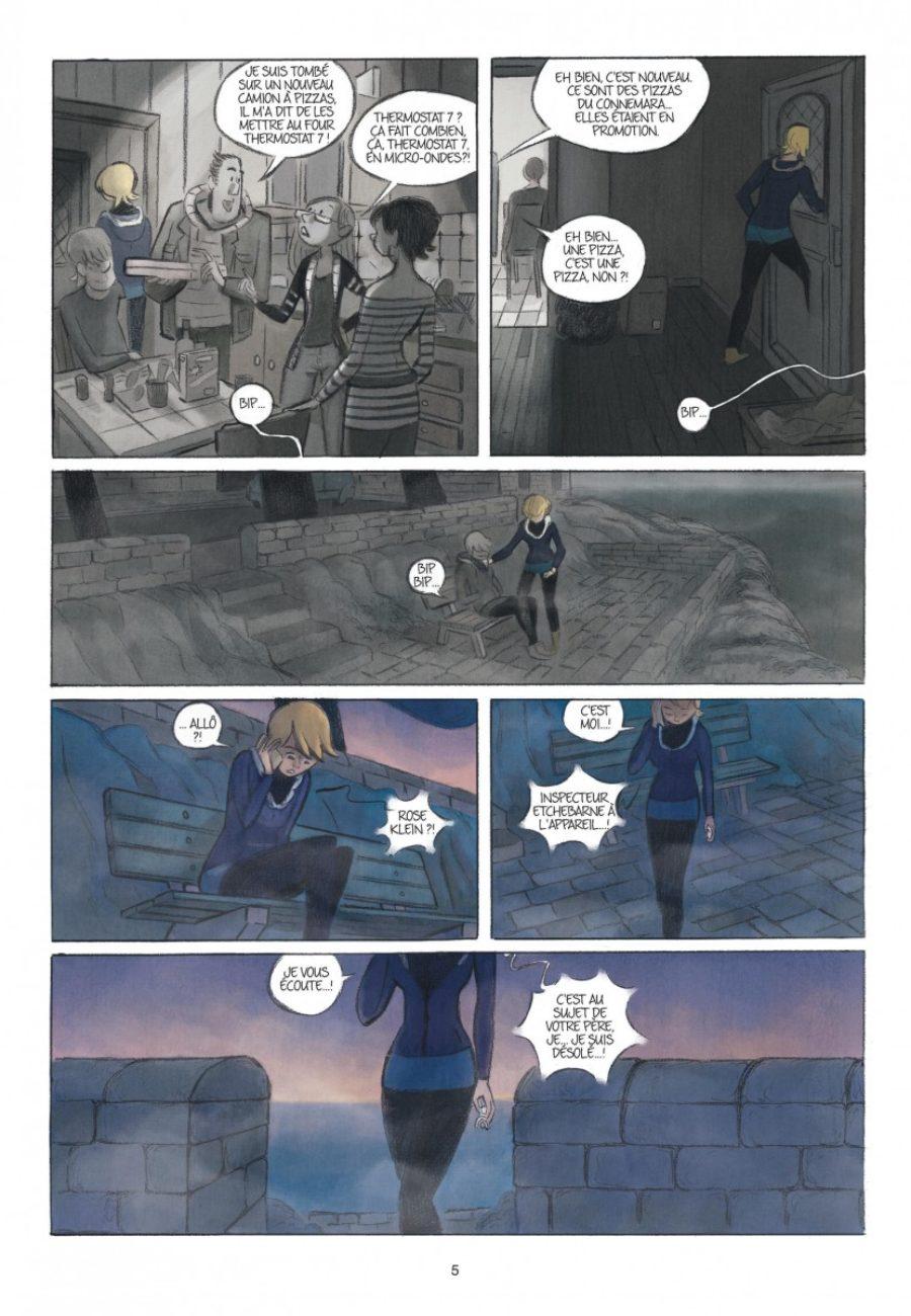 Rose, Double vie, Dupuis-page5-1200