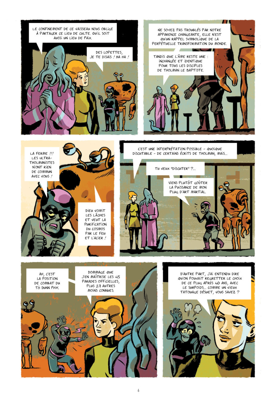 Infinity 8 #3, L'évangile selon Emma, Rue de Sèvres, Trondheim, Balez, Vehlmann