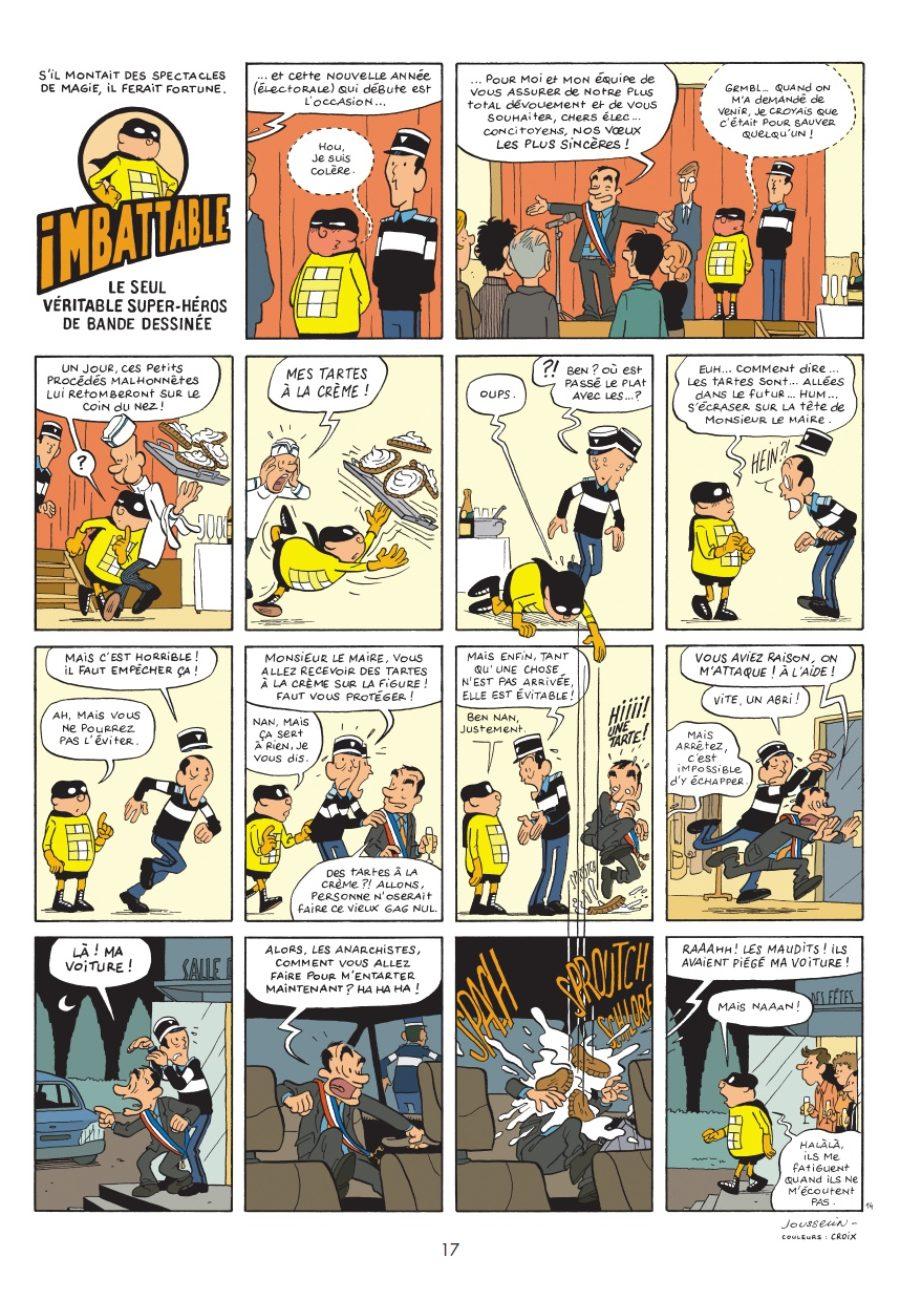 Imbattable #1, Pascal Jousselin, Dupuis