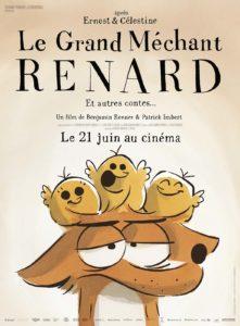 Le Grand Méchant Renard, le flim, Benjamin Renner, Studiocanal