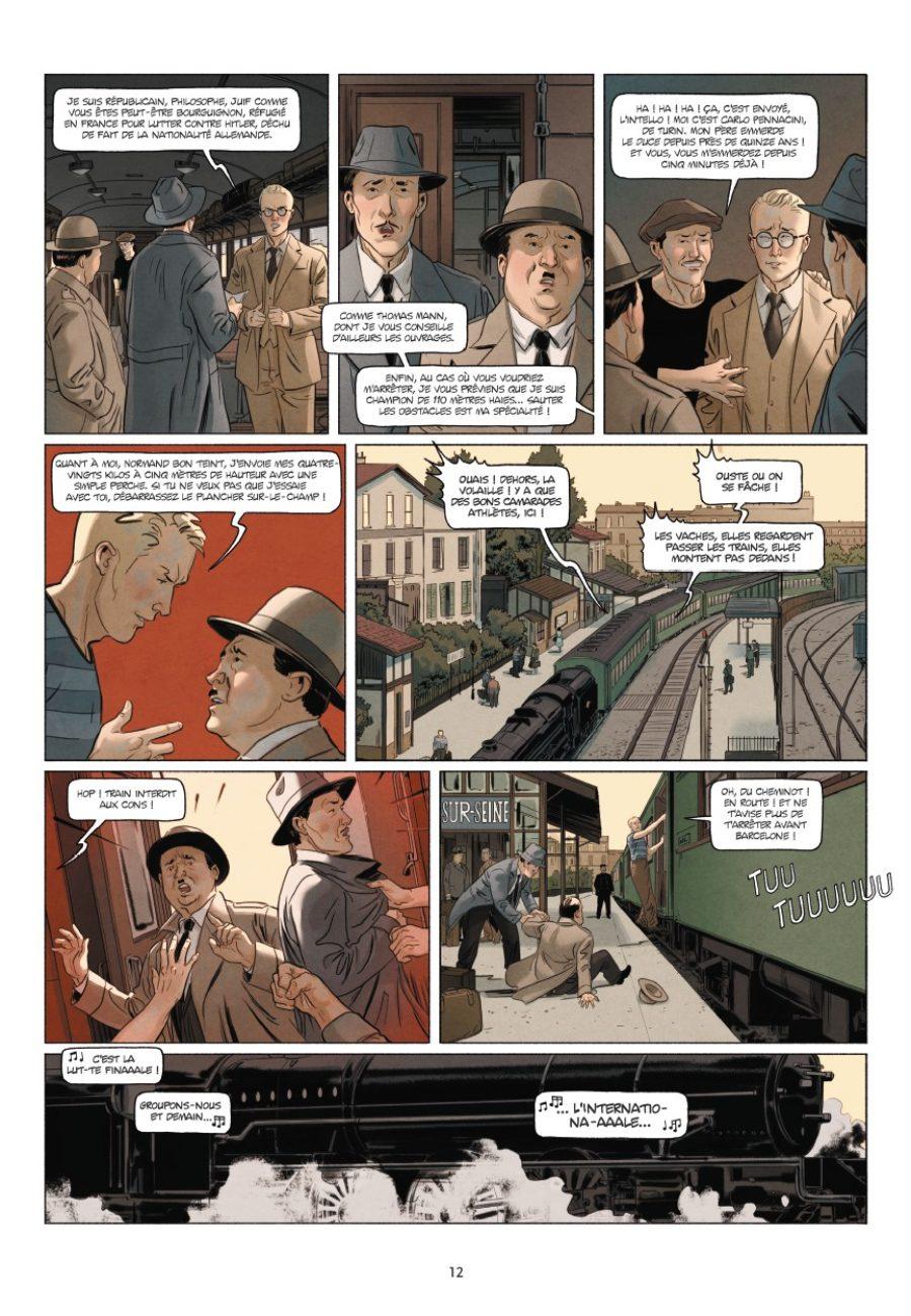 Sept Athlètes, David Morancho, Kris, Bertrand Galic, Delcourt