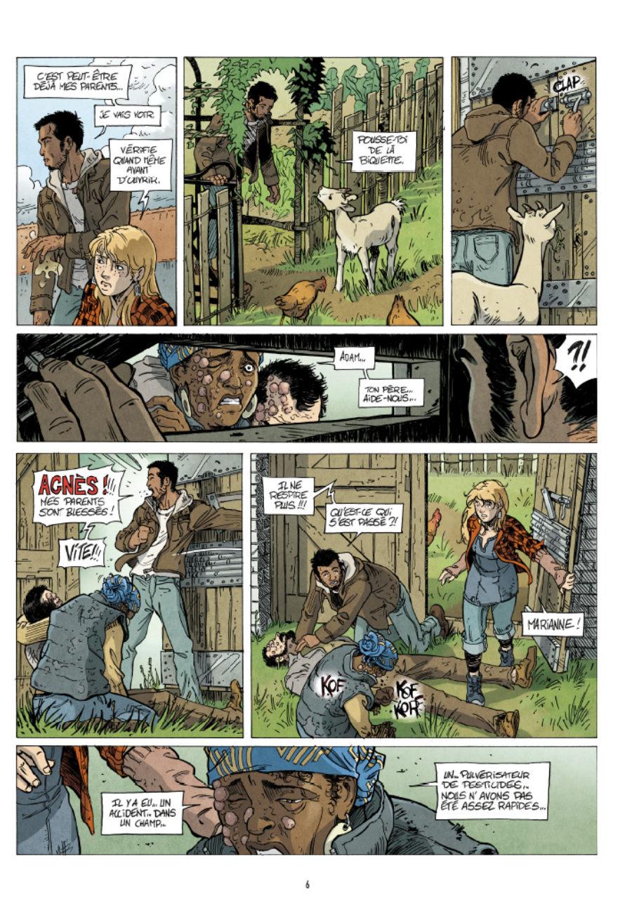 Résilience #1, Les terres mortes, Augustin Lebon, Casterman
