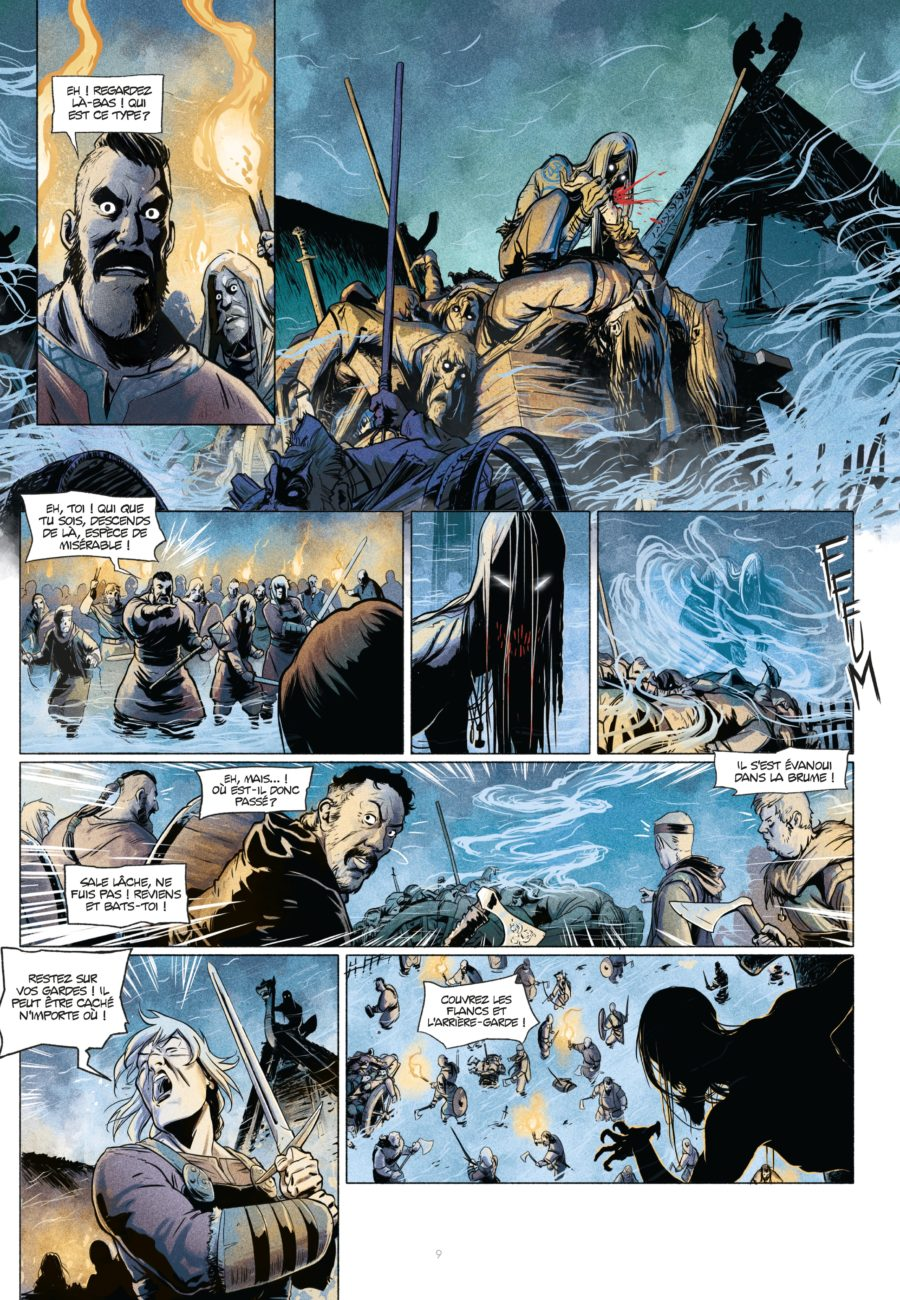Hel'Blar #1, Les Chasseurs de Draugar, Sandawe, Sergio et Alex Sierra