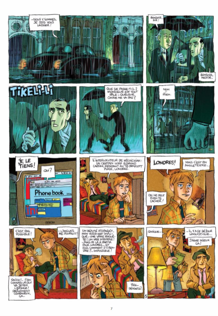 Les 7 Sherlock, Vide Cocagne, Darlot, Pourquié, Vidal