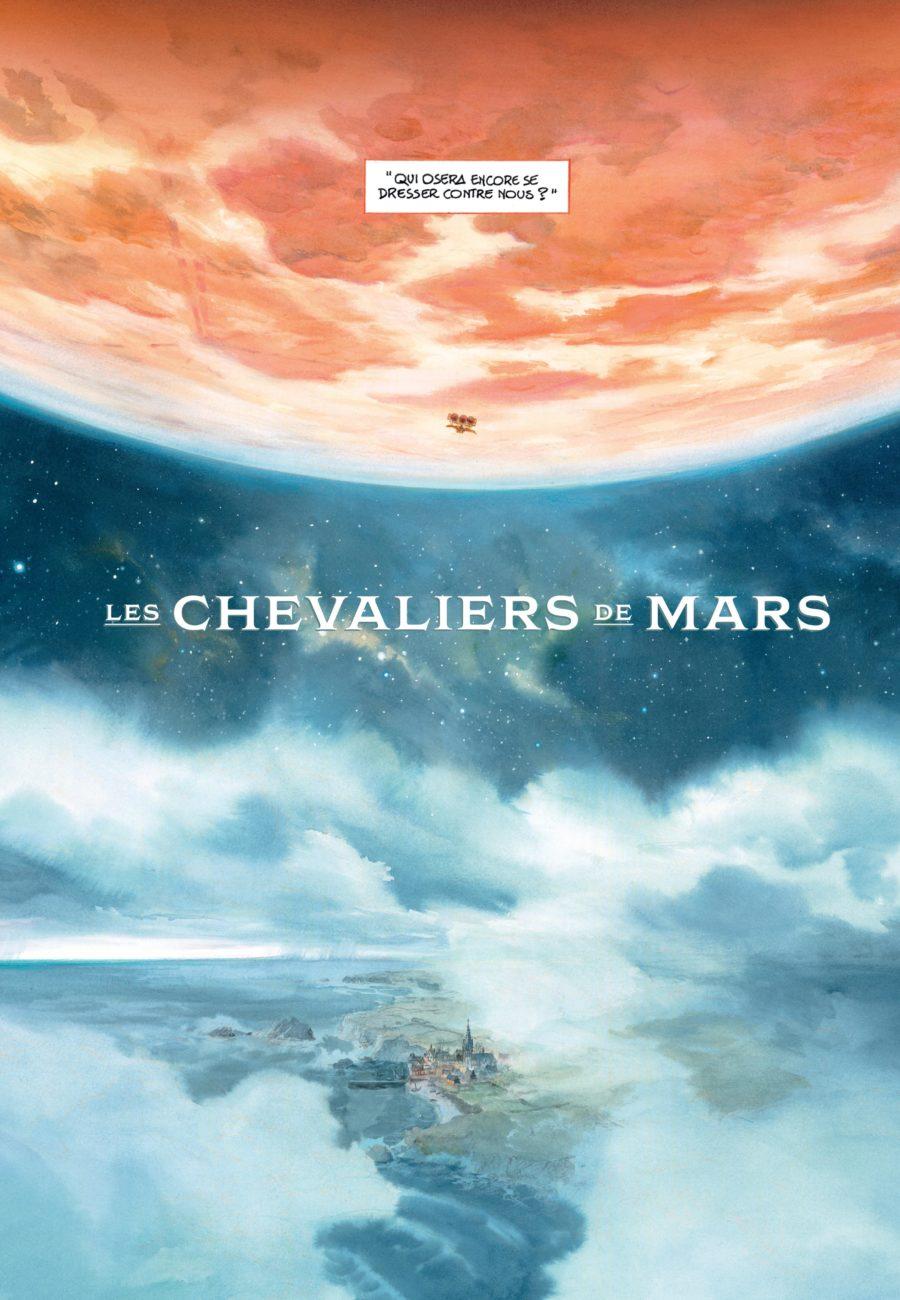 Le château des étoiles, Les chevaliers de Mars, Rue de Sèvres