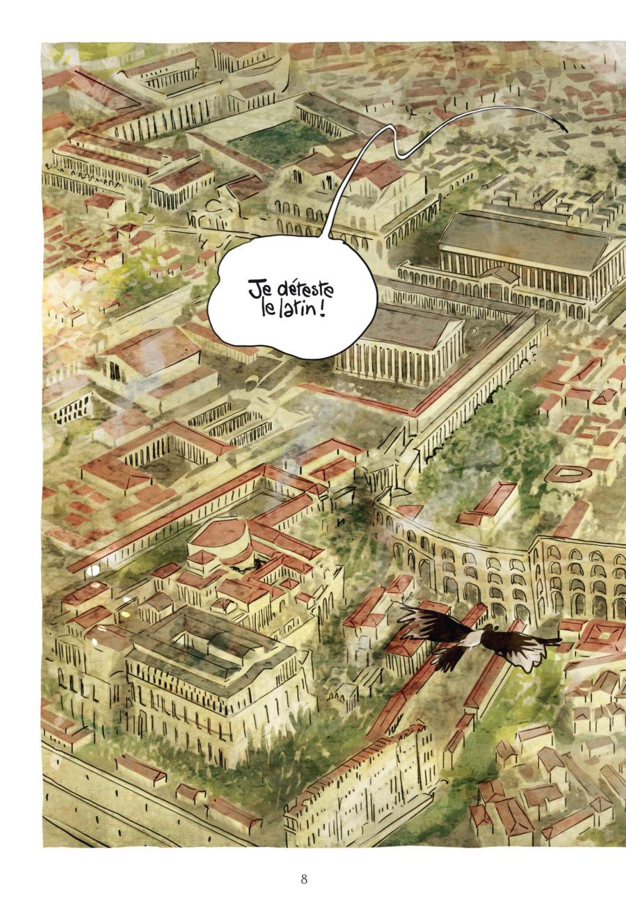 Chronosquad 3, Poulet et cervelle de paon à la romaine, Delcourt