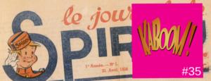 kaboom Journal de Spirou
