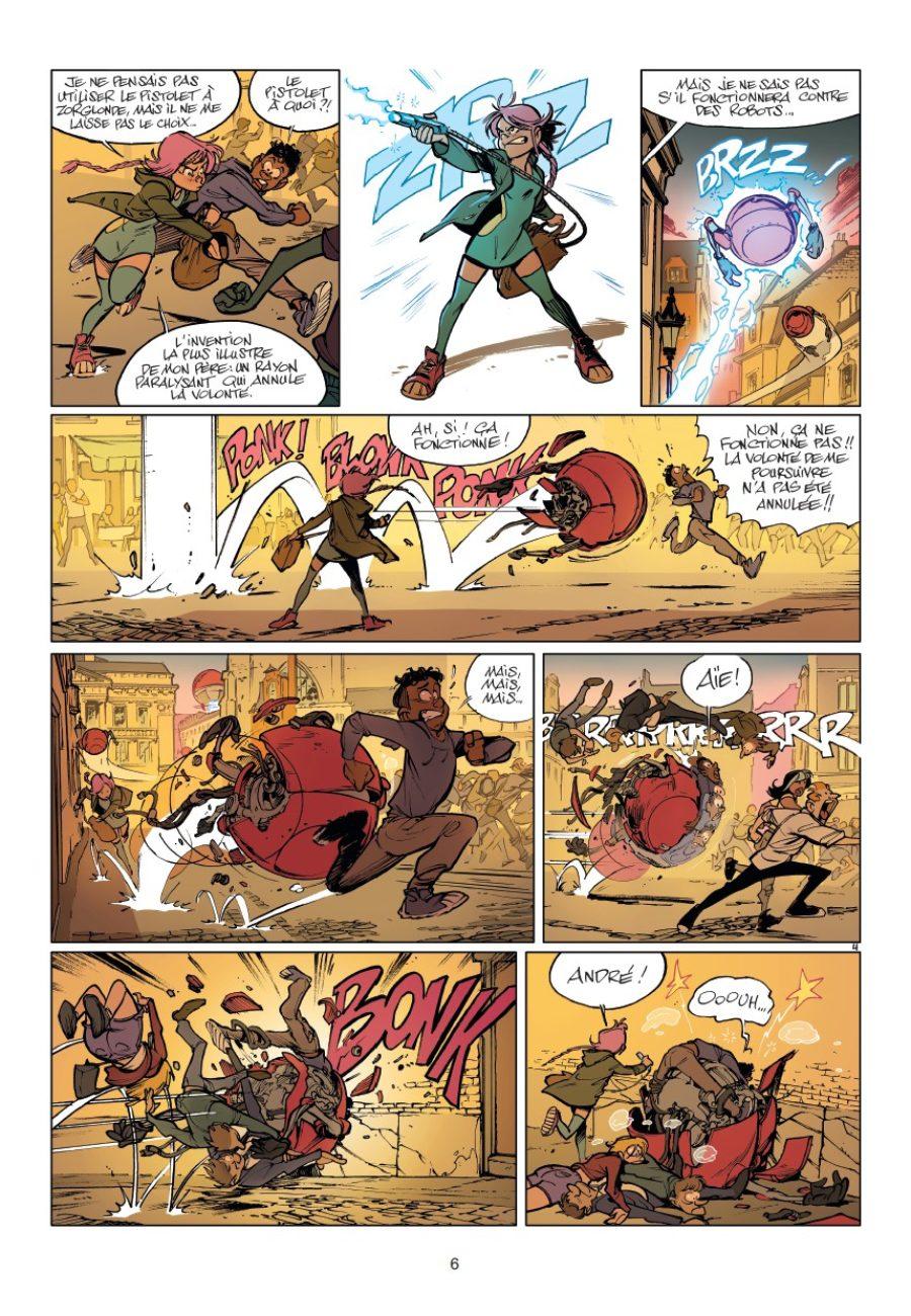 Zorglub #1, La fille du Z, José Luis Munuera, Dupuis, Chronique BD