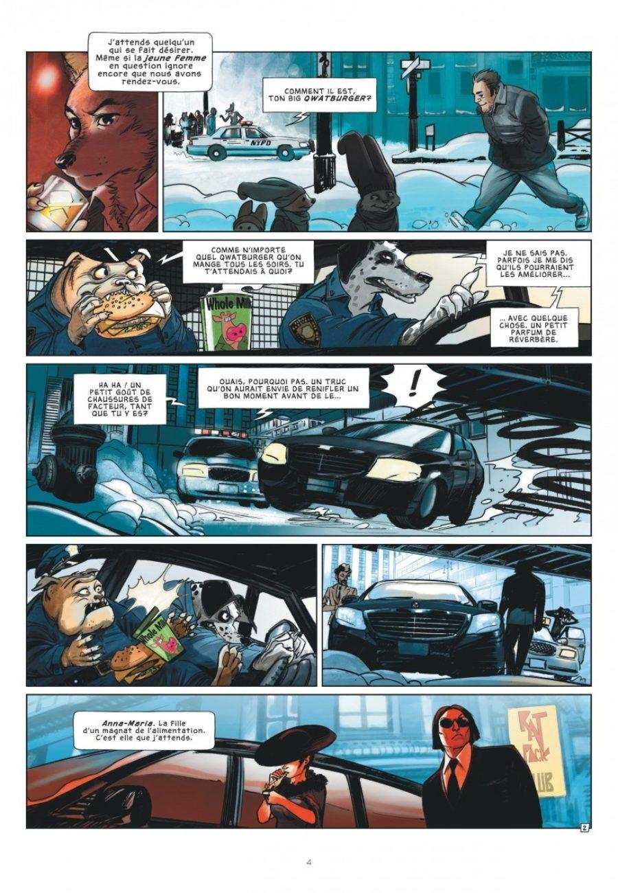 Jack Wolf #1, l'entrée du loup, Le Lombard