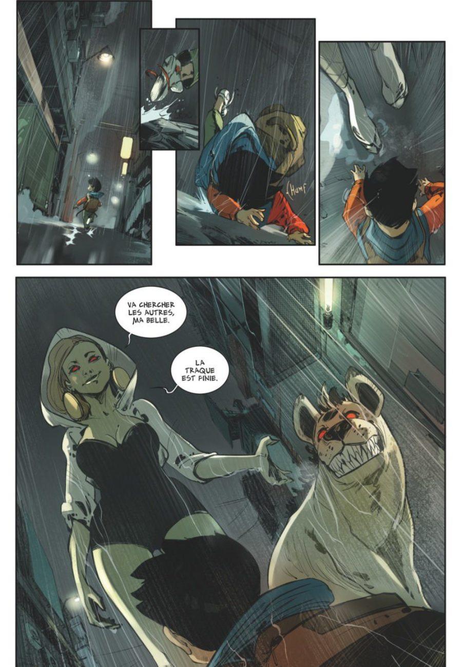 Croquemitaines #2, Mathieu Salvia, Djet, Glénat Comics