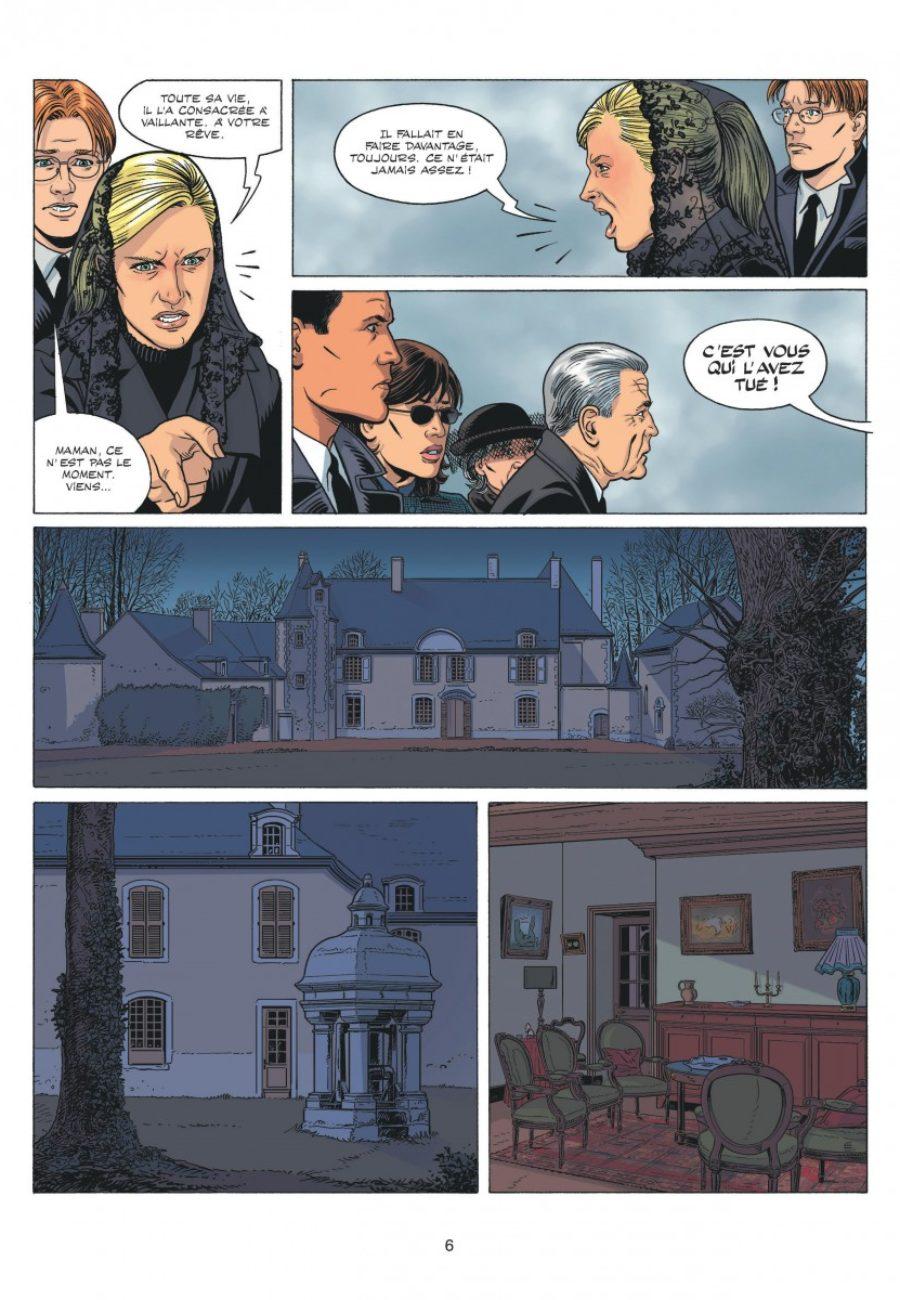 Michel Vaillant, Rebellion, Dupuis-page6-1200