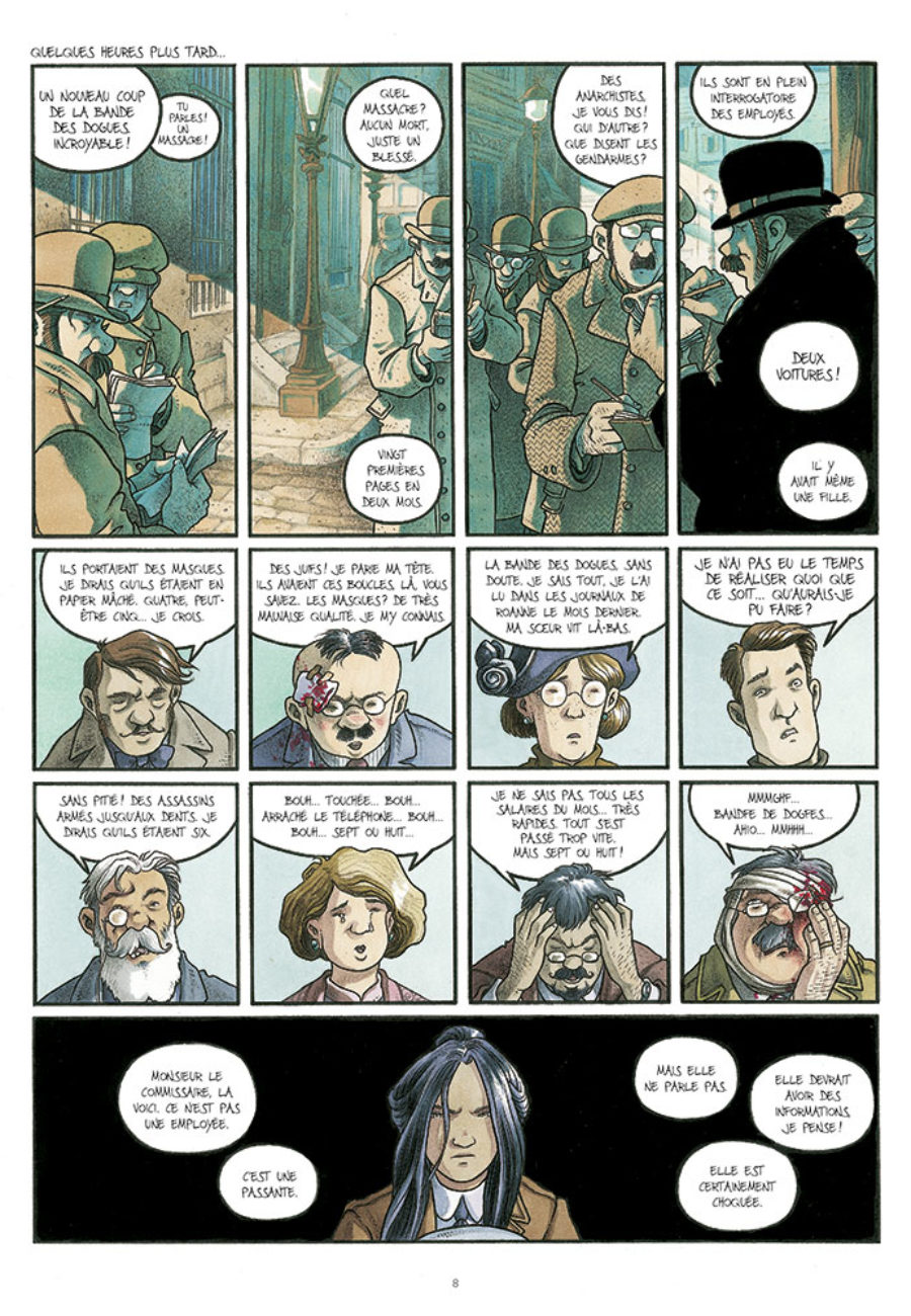 Cynocéphales #1, la bande des dogues, EP éditions