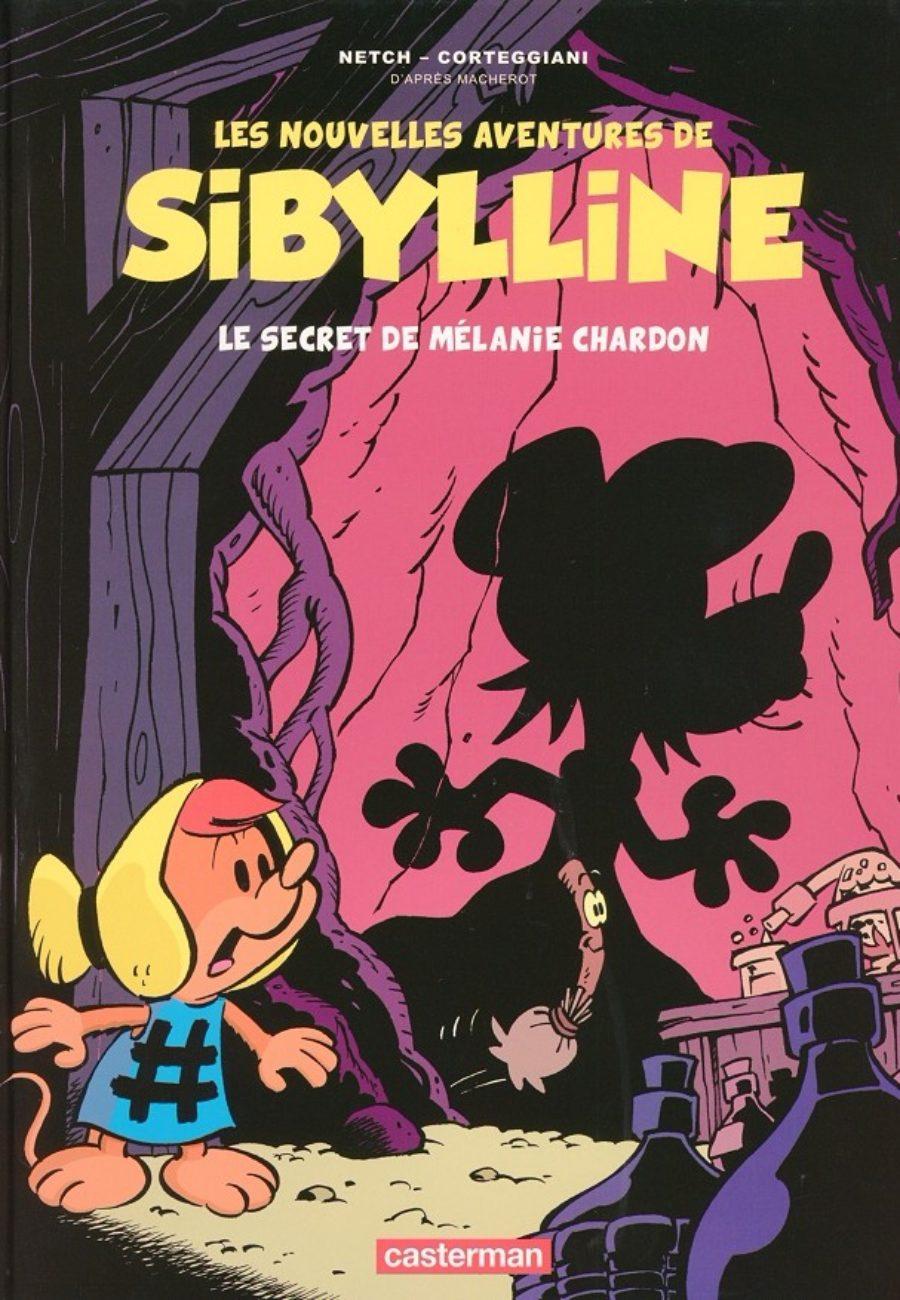 Les nouvelles aventures de sibylline #1, Casterman, Corteggiani, Netch