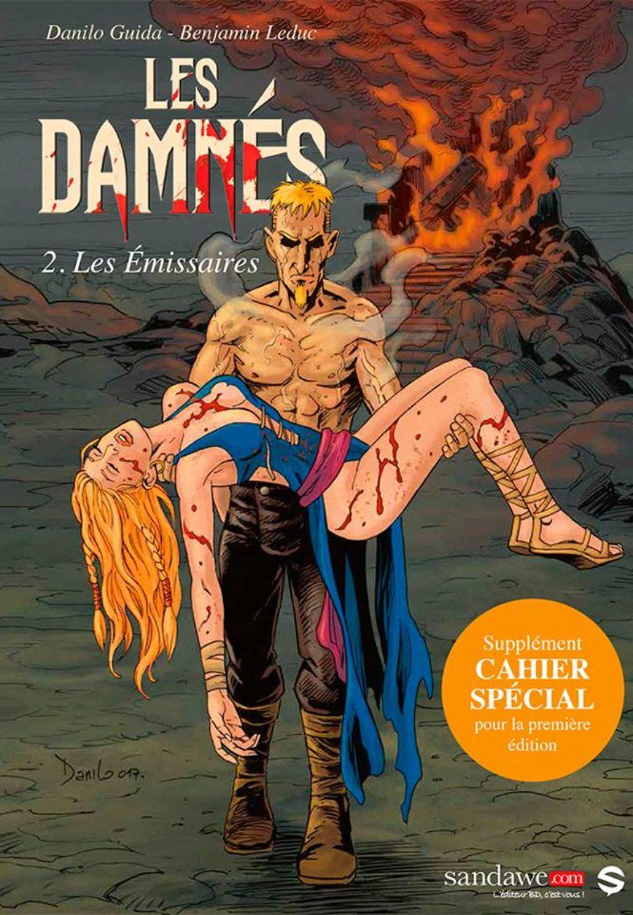 Les damnés 2, Danilo Guida, Benjamin Leduc, sandawe