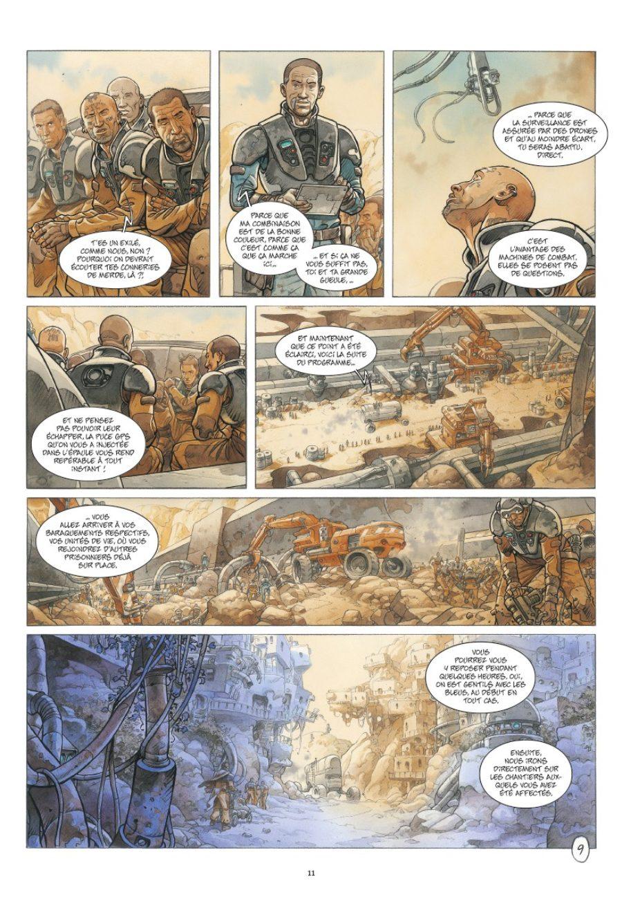 On Mars_, Un nouveau monde, Sylvain Runberg, Grün, éditions Daniel Maghen