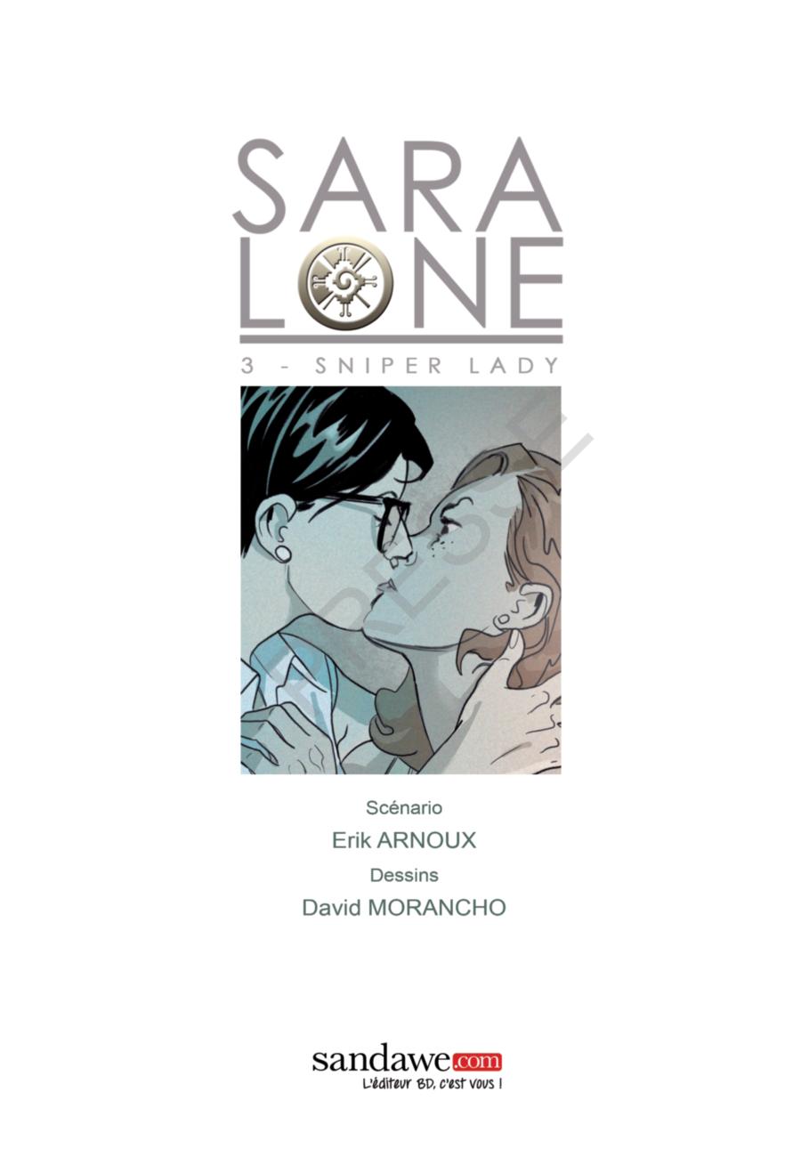 Sara Lone, sniper Lady, Sandawe, Erik Arnoux, David Morancho
