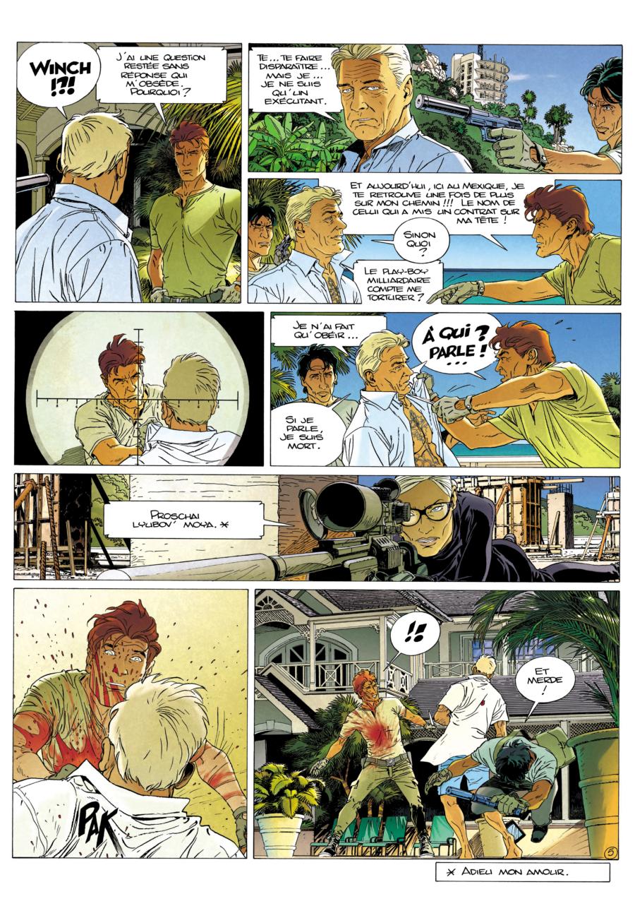 Largo winch, L'étoile du matin, Dupuis, Philippe Francq, Eric Giacometti, News