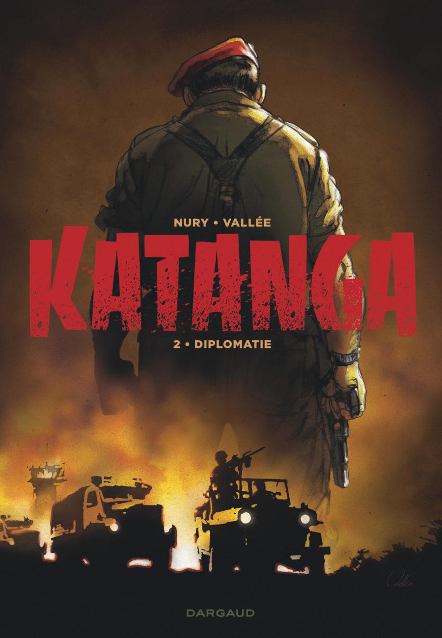 Katanga, Diplomatie, Fabien Nury, Sylvain Vallée, Dargaud