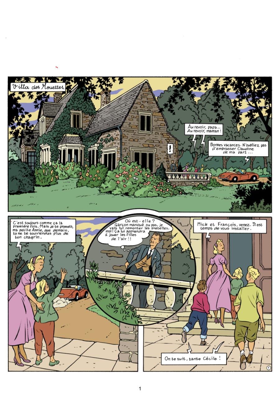 Le Club des Cinq et l'île aux trésor, Hachette comics, Béja, Nataël