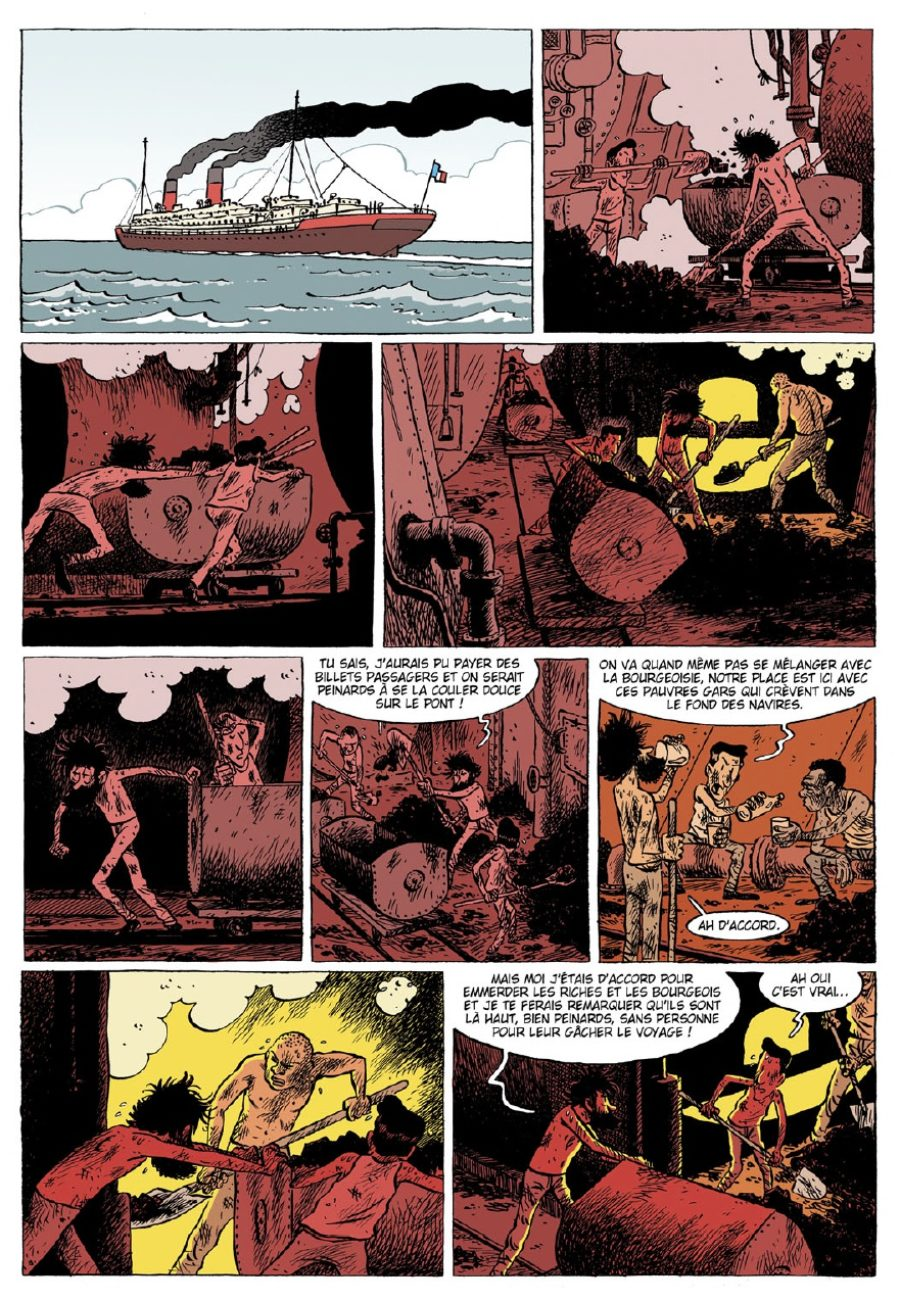 Lincoln #9, Ni dieu ni maitre, Paquet, Jérôme Jouvray, Olivier Jouvray