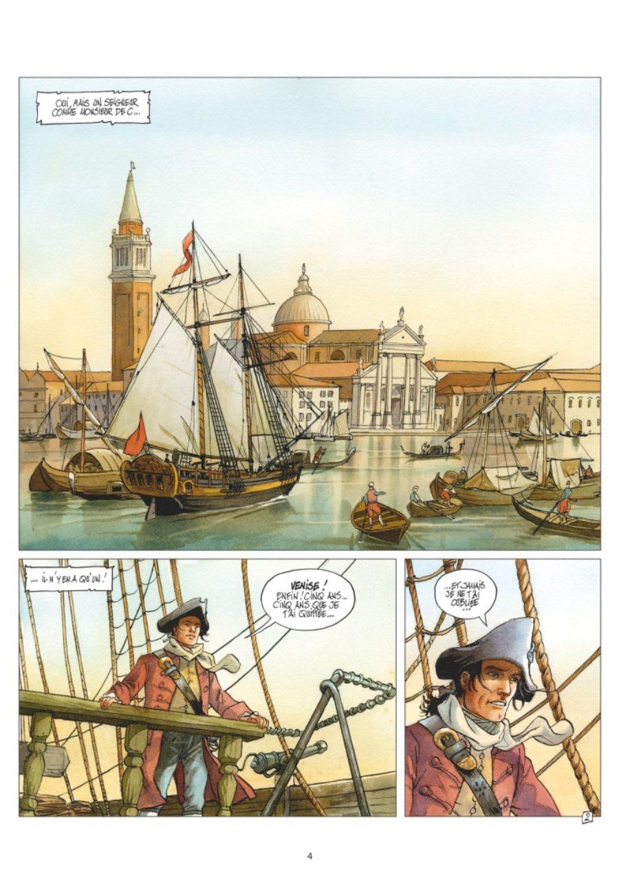 Giacomo C., Retour à Venise, Jean Dufaux, Griffo, Glénat