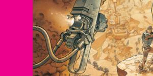 Dans la case, Grun, On Mars_, Daniel Maghen, Grun, Runberg