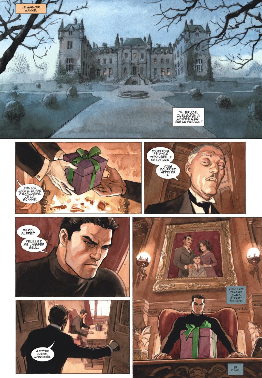 Batman, The Dark Prince Charming, Dargaud, Marini, Chronique BD