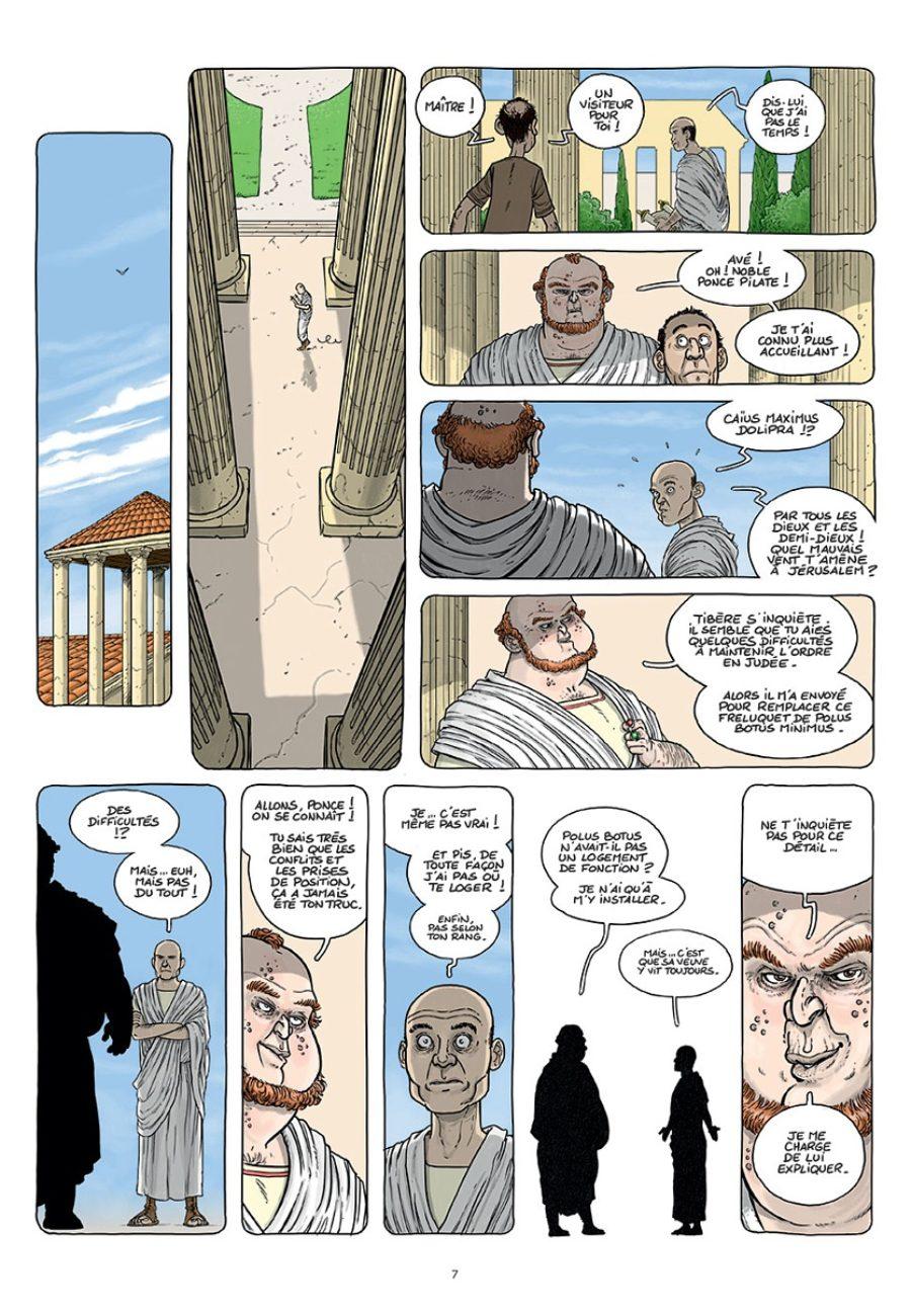 Le voyage des Père, Salomé Amos et les autres, Paquet, David Ratte