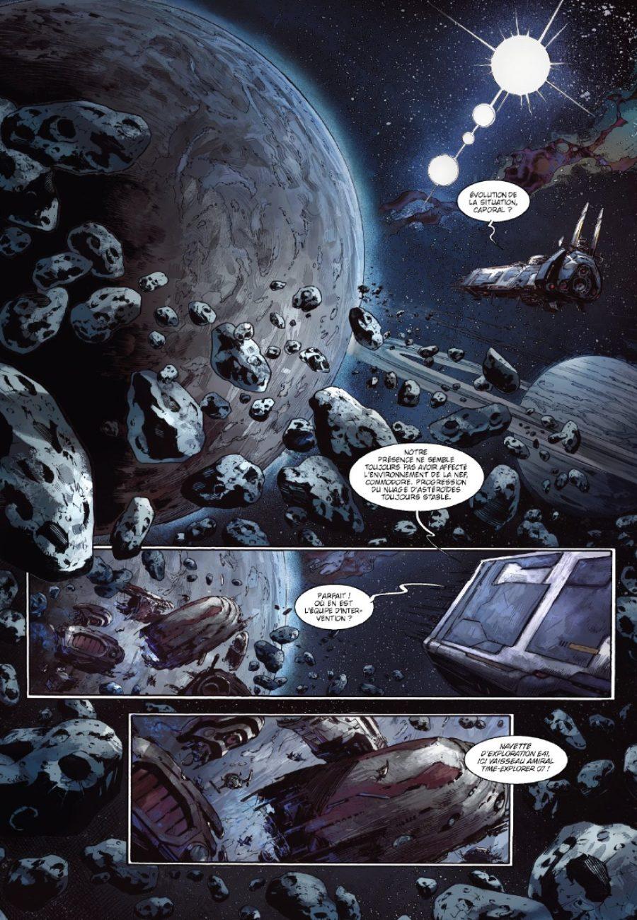 Colonisation, Les naufragés de l'espace, filipi, Cucca, Glénat
