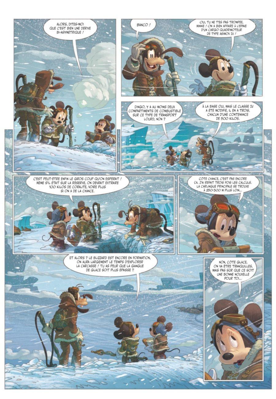 Mickey et l'Océan perdu, Glénat, Denis-Pierre Filippi, Silvio Camboni