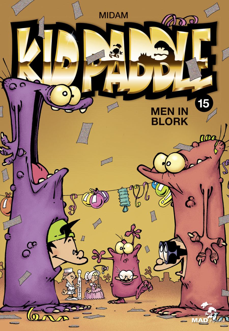 Kid Paddle #15, Men in Blork, Midam, Glénat