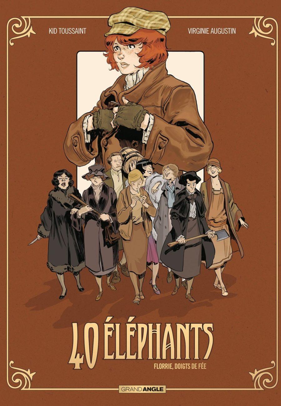40 éléphants #1, Florie doigts de Fée, Grand Angle